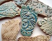 Ceramic feet fridge magnets reserved for Kristin