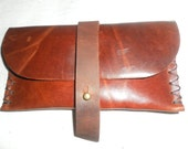 Womens Leather Wallet, Small Brown Leather Pouch, Womens Accessories