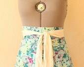 Modern Half Apron with Extra Wide Straps