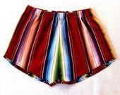 Black Serape Skirt-Extra Fabric Difference for REGINA HOPE