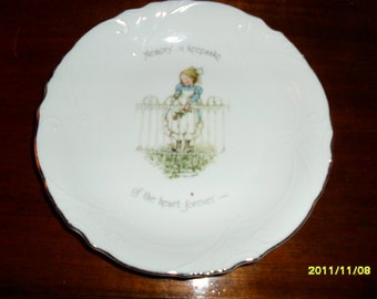 1974 Holly Hobbie Collector Plate