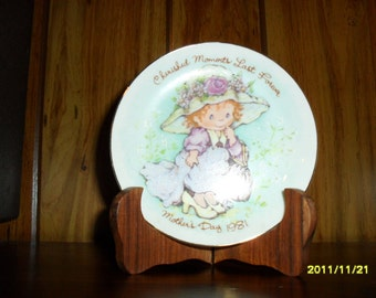 1981 Avon Mother's Day Plate