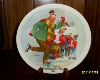 The Csatari Granparent Plate