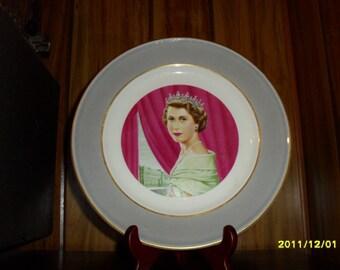 Mayer China Queen Elizabeth II Plate