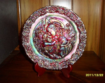 Fenton 1979 Mother's Day Plate