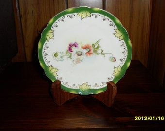 Small Antique Decorative Plate