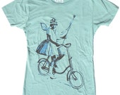 Woman's Fairy T-Shirt in Jade Green S