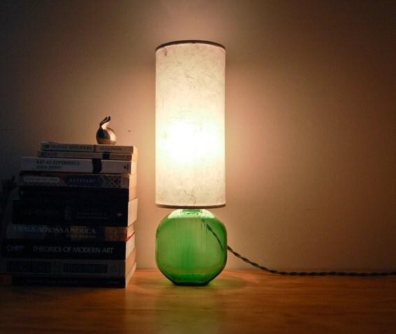 RESERVED for Kate and Daniel - Vintage Refrigerator Bottle Lamp