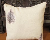 Printed Trees Decor Pillow