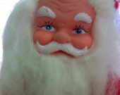 Vintage Santa Clause plush doll collectible decor
