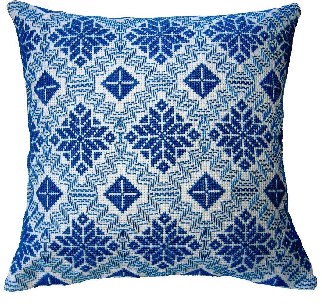 織物?いいえ、これはスウェーデン刺繍です。のサムネイル画像