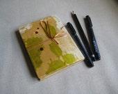 Blank journal, watercolour sketchbook, unusual gift