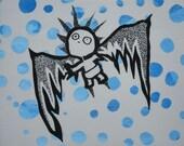 Icarus Kid Fabric Wall Art