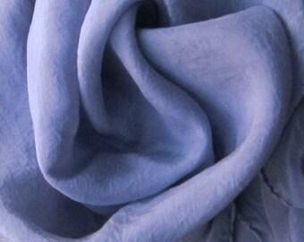 "Grey Lavender Silk Tarot Cloth - Hand Dyed 22""x22""...100% Silk"