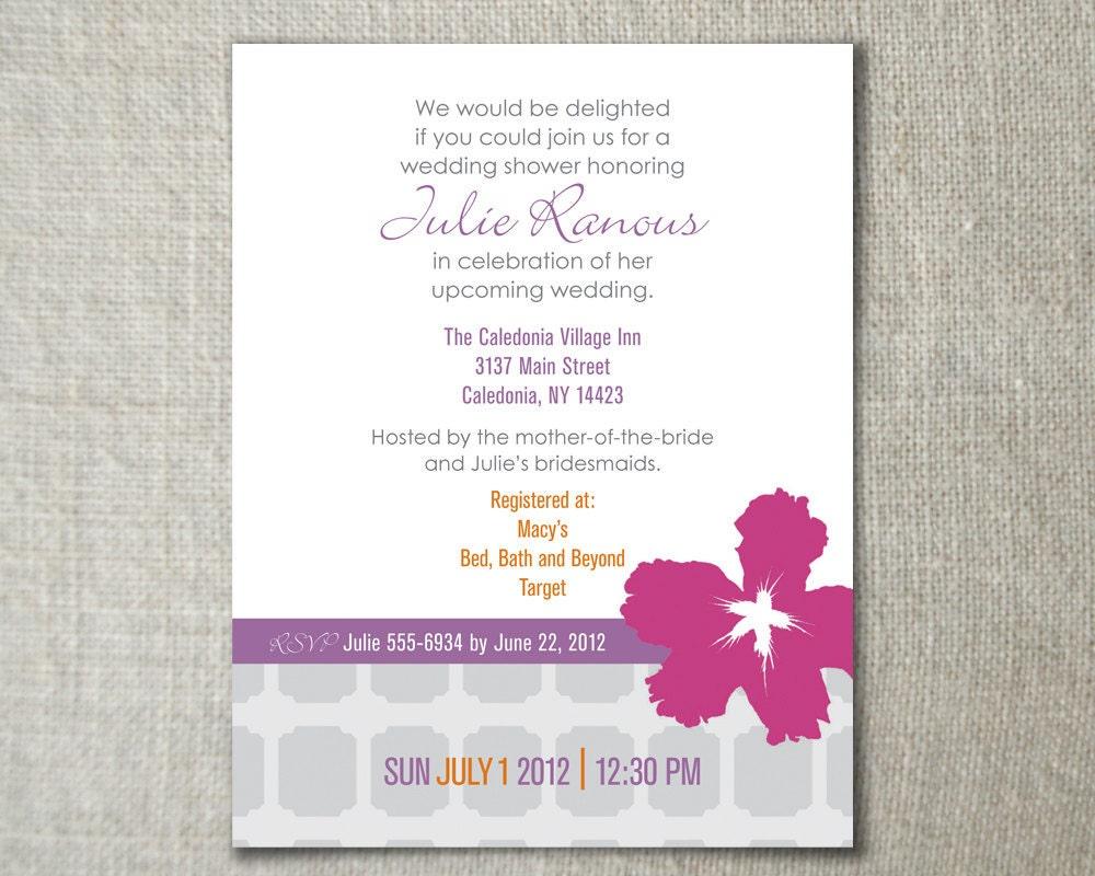 wedding invitations hawaii theme - 28 images - hawaiian theme ...