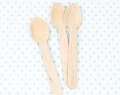 Dozen Wooden Spoons
