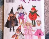 Simplicity Craft 7790 Halloween Doll Costumes