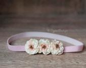 The Little Lucy Flower Headband