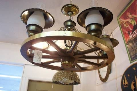 If Your Home Has A Rustic Feel Or Perhaps A Country Style Feel, Then  Getting A Wagon Wheel Light Fixture Might Be The Right Choice To Compliment  The ...