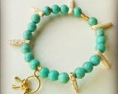key charm bracelet