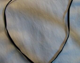 Velvet and gold heart pendant
