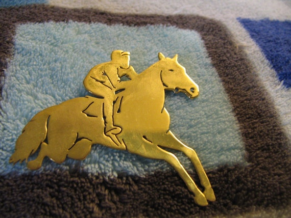 Great Vintage Horse Figural Pin