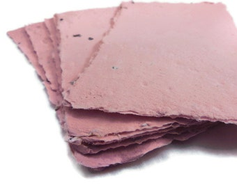 Pink Seed Paper Sheets - 10 count