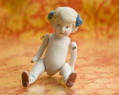Vintage Porcelain Bisque Doll made in Japan