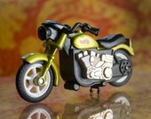 Green Hot Wheels Harley-Davidson Friction Motorcycle by Mattel