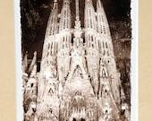 Sagrada Familia, Antoni Gaudi, Barcelona.