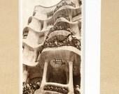 Casa Milà (La Pedrera), Antoni Gaudi, Barcelona.