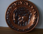 Coperscraft Guild Copper Tray from Taunton Massachusets