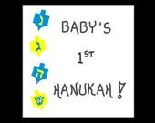 Hanukah Magnet -  Baby's First Hanukah