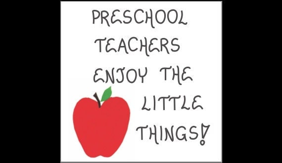 Preschool Teacher Quotes Magnificent Items Similar To Preschool Teacher Quote Magnet Prek Or Nursery