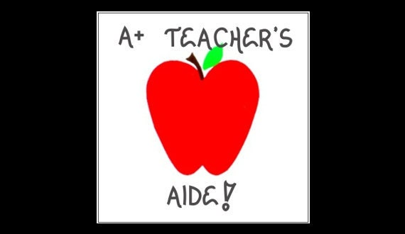 Items similar to Teacher's Aide Magnet Quote, Teaching, to teach ...