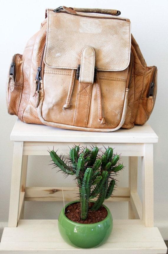 Intrepid Traveller Soft Leather Backpack