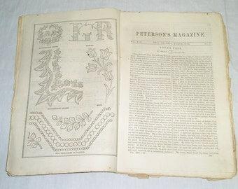 Peterson's Magazine - March 1864.