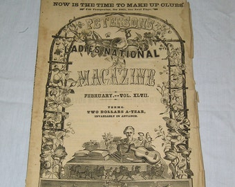 Peterson's Magazine - Feb. 1865