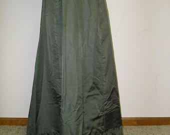 Green Edwardian Skirt