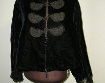 1903-9 Velvet jacket