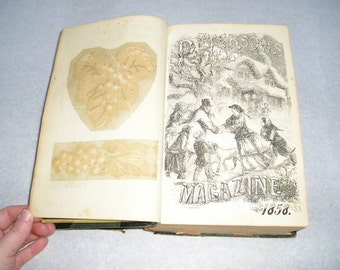 Peterson's Magazine 1858 (M)