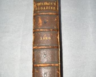 Petersons Magazine Book 1860 (M)