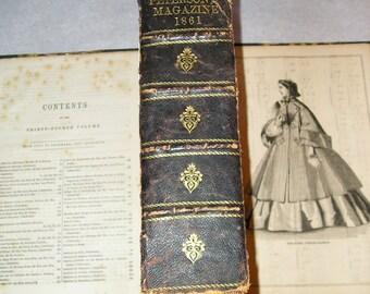 Peterson's Magazine Book 1861 (M)
