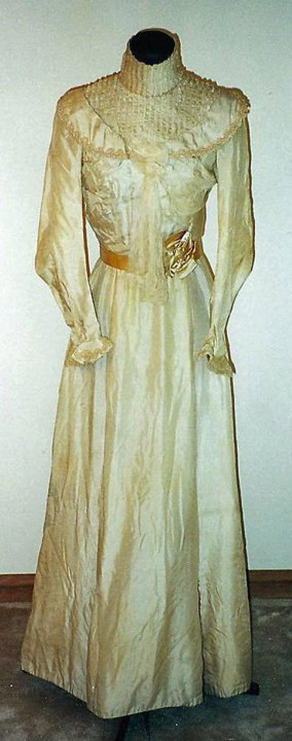 1901 Wedding Dress