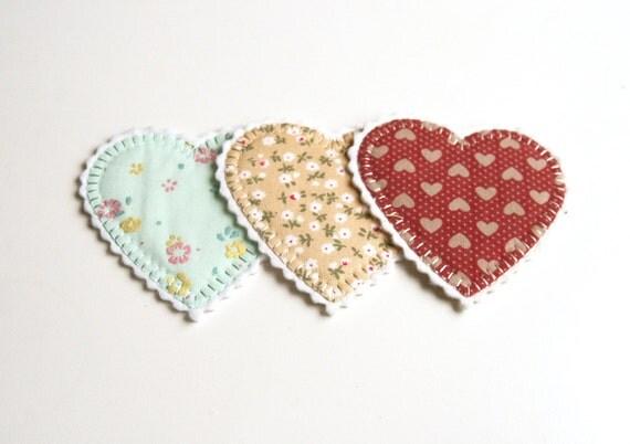 Heart patch, Vintage patch