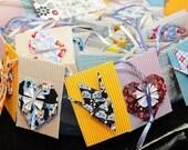 10 x Handmade Origami Gift Tags