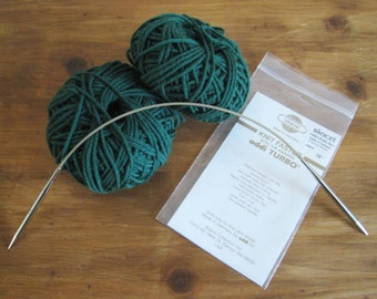 Vintage Skacel Addi Turbo Circular Knitting Needles from Germany