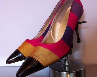 Vintage Herbert Levine Stilettos / New York Designer Herbert Levine Pumps Circa 1950s/60s