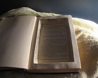 Custom Made to Order Booksafe Keepsake Box