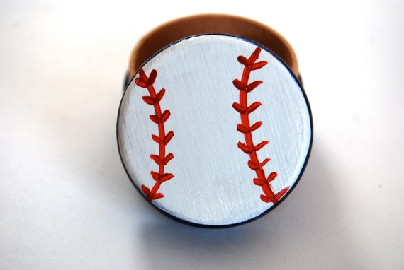 Baseball Wedding Gift Card Box : Wood Box Gift, Custom Wedding Ring Box, baseball